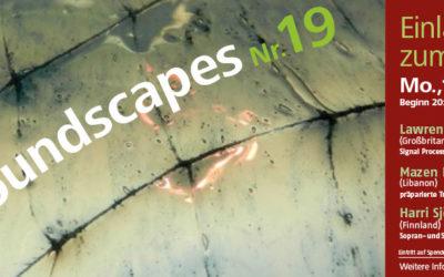 Soundscapes 19 | 15.04.2019